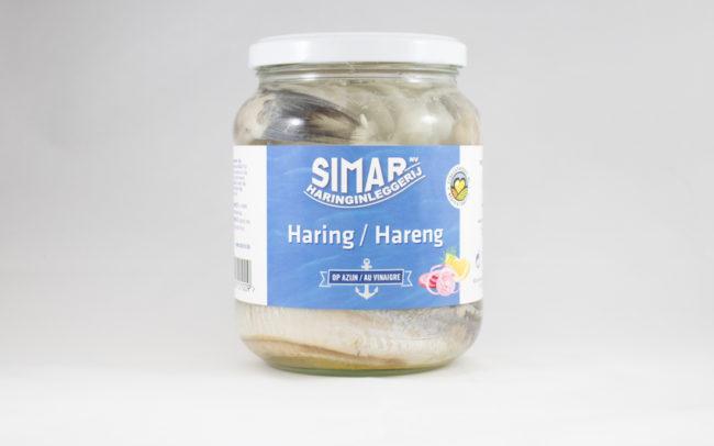 Haring op azijn bokaal